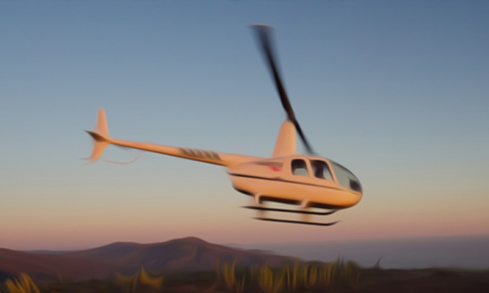 Nanco Helicopters - Santa Barabara Municipal Airport: $265 for a 45-Minute Helicopter Tour of Santa Barbara for Two from Nanco Helicopters (40% Off)
