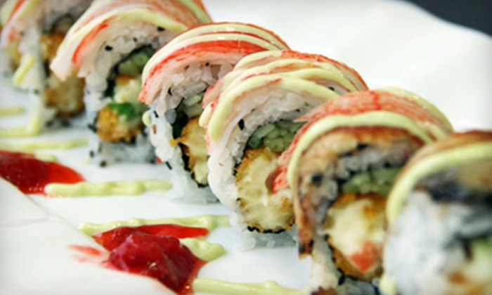 Yukai Buffet - Yukai Japanese Buffet: $11 for $20 Worth of Sushi and Seafood at Yukai Buffet