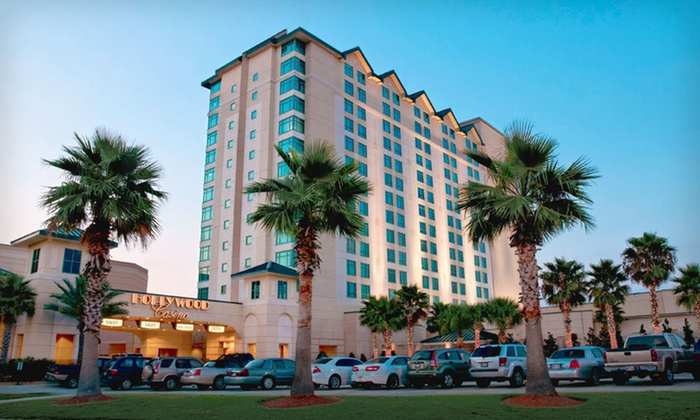 Hollywood Casino Bay St. Louis  - New Orleans East: Two-Night Stay and Buffet for Two or Golf Outing for One at Hollywood Casino Bay St. Louis in Bay St. Louis, MS