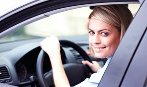 Driving-Easy Driving School: Driving-Course Packages at Driving-Easy Driving School (Up to 58% Off). Four Options Available.
