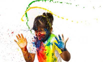 Splash of Colour Paint Photoshoot For Up to Four People, £12 at PGD Photography (80% Off)