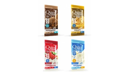 Quest Nutrition Protein Powder Single Serve Pouches (Variety Pack, 12-Count)