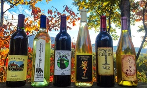 Unicoi Wine Trail: $25 for a Tasting Card Along the Unicoi Wine Trail, Plus Two Complimentary Glasses ($40 Value)