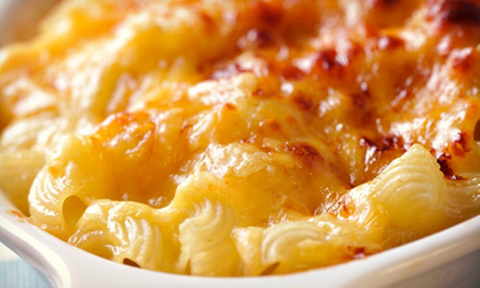 MacDaddy's Macaroni & Cheese Bar - Monroe: Two or Four Snacks and Drinks at MacDaddy's Macaroni & Cheese Bar (Up to 55% Off)