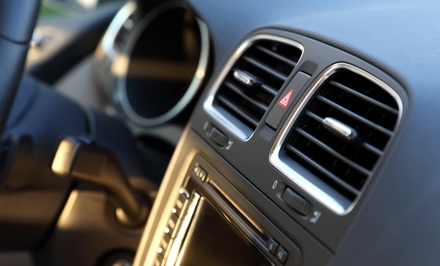 Air-Conditioning Service with Optional Oil Change at Fletcher's Tire & Auto Service (Up to 71% Off)