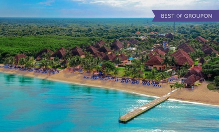 groupon daily deal - All-Inclusive Stay at Allegro Cozumel in Mexico, with Dates into August. Includes Taxes and Fees.