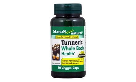 Mason Natural Turmeric Whole Body Health (60-Count)