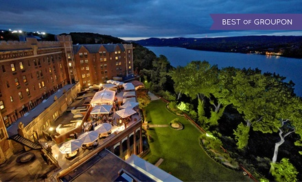 groupon daily deal - Stay at The Thayer Hotel at West Point in West Point, NY. Dates into June.