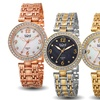 Bürgi Women's Bracelet Watch with Mother of Pearl Dial