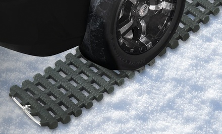 Heavy-Duty Rubber Tire Grip Track