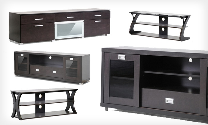 Baxton Studio Modern TV Stands: Baxton Studio Modern TV Stands (Up to 61% Off). Five Models Available. Free Returns.