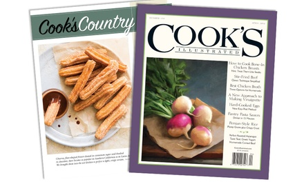 One-Year, Six-Issue Subscription to Cook's Illustrated or Cook's Country Magazine