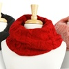 Knit Infinity Twist Scarves