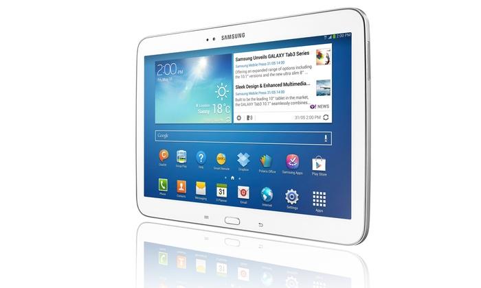 Groupon Goods Global GmbH: Galaxy Tab 3 10.1 3G + Wi-Fi a 299 € invece di 349. Spedizione gratuita!