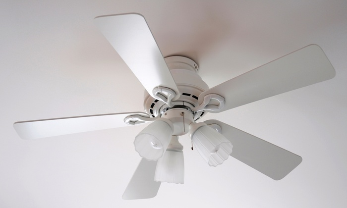 Kinslow Smith - Cicero: $75 for Ceiling-Fan or Light-Fixture Installation, or Electrical-Outlet Replacement from Kinslow Smith ($175 Value)