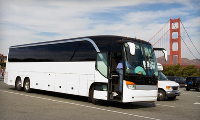 Executive Charters - Napa / Sonoma: $34 for a 3.5-Hour Guided City Tour from Executive Charters ($75 Value)