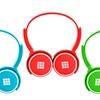 Polaroid Kid-Safe Neon Stereo Headphones