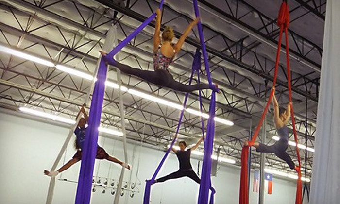 Lone Star Circus School - Farmers Branch: 5 or 10 Beginners' Circus Classes at Lone Star Circus School (Up to 58% Off)