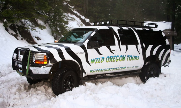 Wild Oregon Tours - Silverton: Drive Through the Mountains or Waterfalls Tour for Four or Six from Wild Oregon Tours (Up to 52% Off)