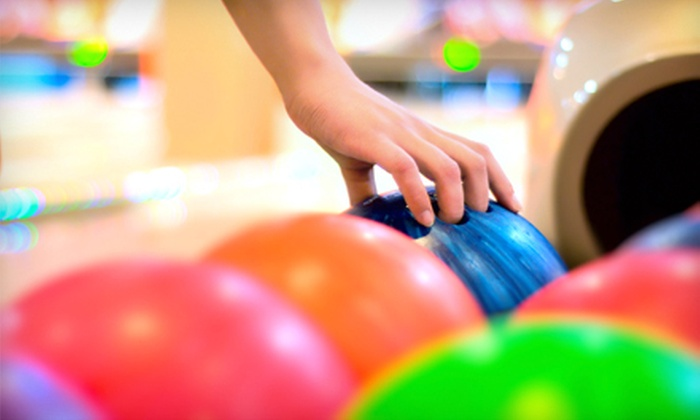 Rainbow Lanes Family Fun Center - Clayton: Two Games of Bowling with Shoe Rental for Two or Four at Rainbow Lanes Family Fun Center (Up to 54% Off)