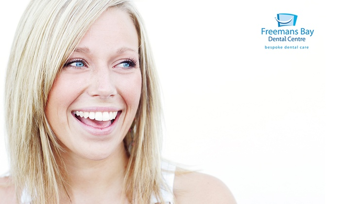 $59 for a Dental Checkup + X-Rays or $99 with Clean and Polish Package at Freemans Bay Dental Centre