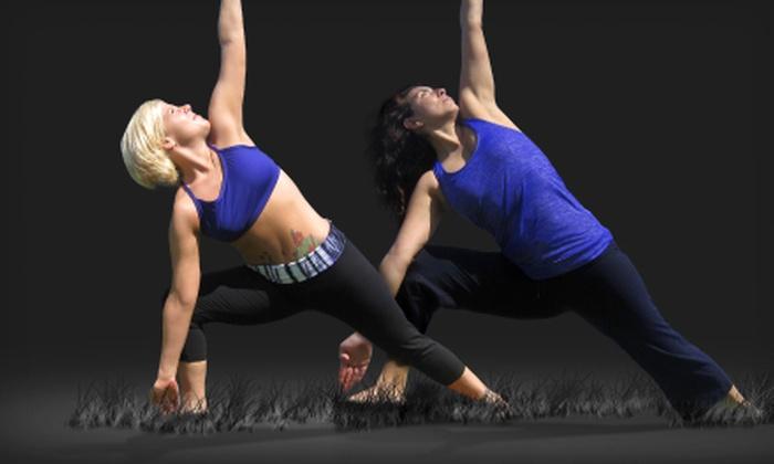 Bikram Yoga Central Miami - Midtown: 5 or 10 Hot Yoga Classes at Bikram Yoga Central Miami (Up to 68% Off)