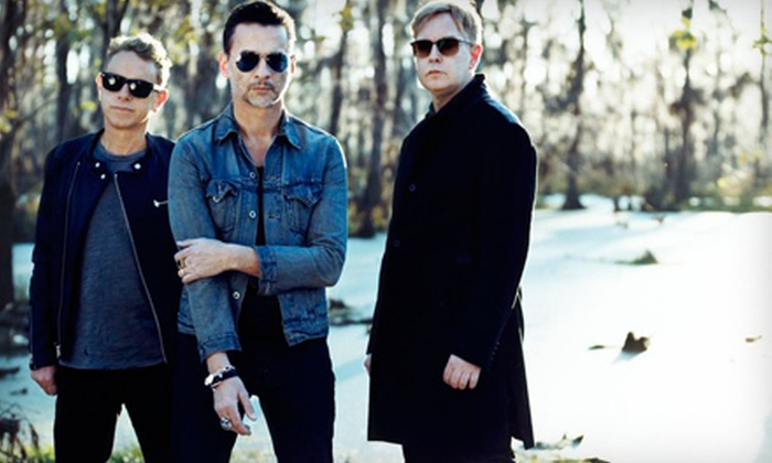 Depeche Mode: The Delta Machine Tour - East Lake-Orient Park: Depeche Mode at Live Nation Amphitheatre at the Florida State Fairgrounds on Saturday, September 14 (Up to $ 38 Value)