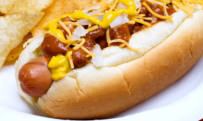 Lucky Louie's Beer and Wieners - Summit: Beer and Hot Dogs at Lucky Louie's Beer and Wieners (Up to 53% Off). Two Options Available