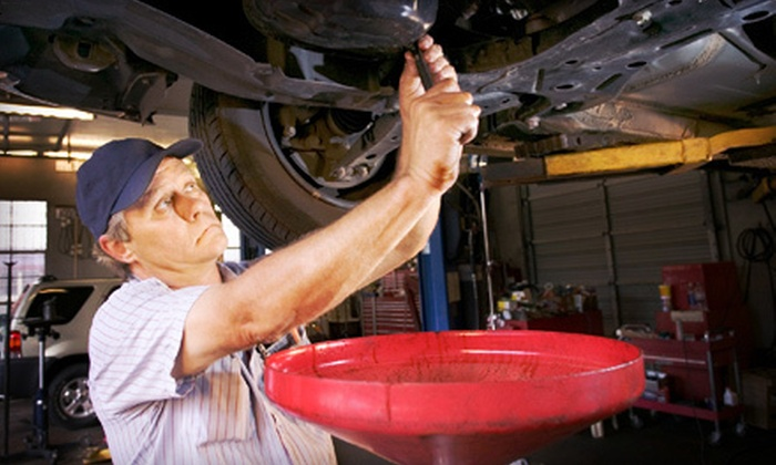 Accurate Automotive and Tire - Mandeville: Tire Alignment or Oil Change and Inspection at Accurate Automotive and Tire (Up to 67% Off)