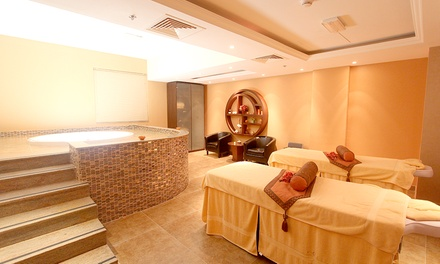 Body Scrub or Up to Three 60  or 90 Minute Spa Treatments with Spa Access at Orange Wellness Spa
