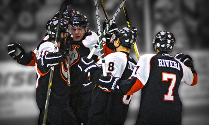 El Paso Rhinos - Events Center: El Paso Rhinos Hockey Game for Two, Four, or Six at El Paso Events Center (Up to 58% Off)