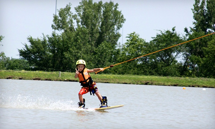 KC Watersports - Paola: Two Hours of Cable-Towed Watersports with Rental Gear Monday–Friday or Any Day from KC Watersports (Up to 51% Off)