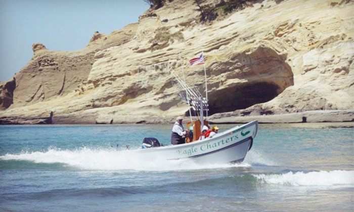 Eagle Charters Fishing - Pacific City: Fishing Charter Trip for One or Two from Eagle Charters Fishing in Pacific City (Up to 53% Off)