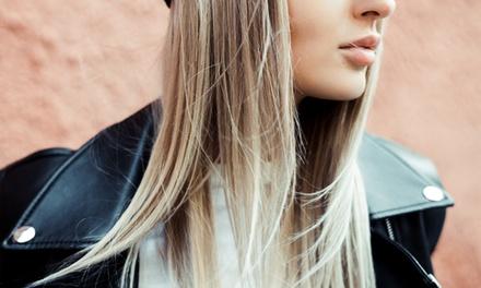 Sesión completa de peluquería con opción a tinte y/o mechas 76% en B&F centro de belleza