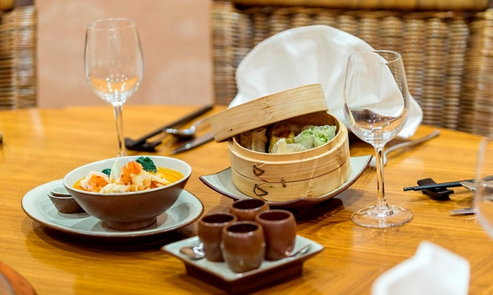 Hilton Abu Dhabi hotel - Abu Dhabi: All-You-Can-Eat Thai and Chinese With Drink For Two from AED 195 at Royal Orchid, Hilton Abu Dhabi Hotel (60% Off)