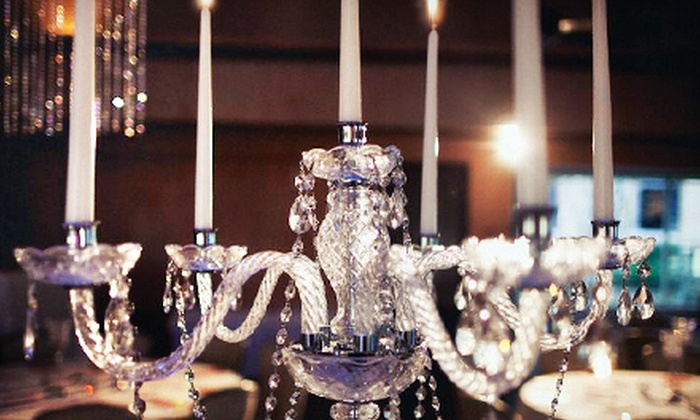 SB Wedding Decor - Houston: Wedding Chargers, Chair Covers, Centerpieces, or LED Up-Lighting at SB Wedding Decor (Half Off)