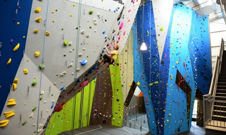 One-Week or One-Month Climbing Package for One or Two at Planet Granite Portland (Up to 58% Off)