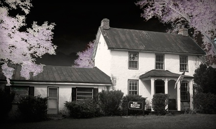 The Haunted Cottage - Harpers Ferry: Murder-Mystery-Theater Visit for Two or Four at The Haunted Cottage (Up to 55% Off)