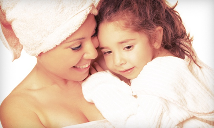 Image Salon & Day Spa - St. Joseph: $135 for a Mother-Daughter Spa Day with Jacuzzi Session, Body Wraps, and Facials at Image Salon & Day Spa ($350 Value)