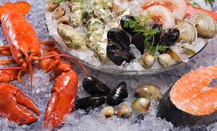 [$19 for $30 Worth of Fresh Seafood at Rowand Fisheries Image]