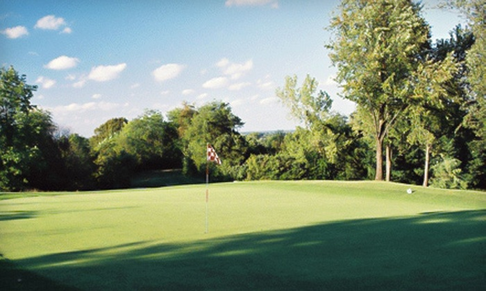 Bluff Creek Golf Course - White River: Weekday or Weekend Round of Golf for Two or Four at Bluff Creek Golf Course in Greenwood (Up to Half Off)
