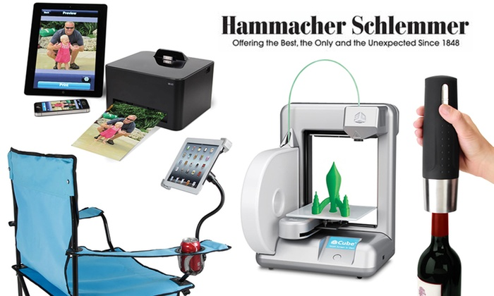 Hammacher Schlemmer: $25 for $50 or $50 for $100 Worth of Gadgets at Hammacher Schlemmer