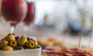Sangria: Wine & Tapas: Tapas and Sangria Tasting Experience for Two, Four, or Six at Sangria (Up to 65% Off)