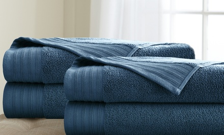 Oversized Quick-Dry Bath Sheets (4-Pack)