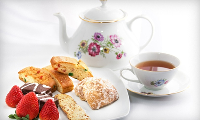 Kimberly Ann's Victorian Tea Room & Cafe - Catlin Court Historic District: Classic, Garden, or Elegant High Tea for Two at Kimberly Ann's Victorian Tea Room & Cafe (Half Off)