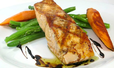 French Dinner for Two or Four with Appetizers, Entrees, Dessert, and Wine at Bistrot 92 (Up to 45% Off)