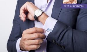 Lenco: Uno o 2 abiti sartoriali da uomo realizzati su misura con tessuti Made in Italy alla camiceria Lenco (sconto fino a 53%)