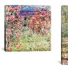 Gallery-Wrapped Monet Print
