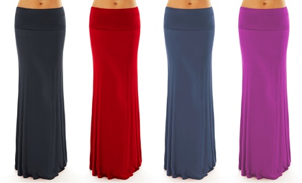 Fall-Colored Maxi Skirts