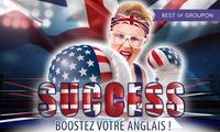 Dites oui à l'anglais! 6 à 24 mois de cours en e-learning dès 69 € (jusqu'à 93% de réduction) avec English! Speak it!